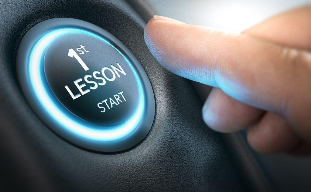1st Lesson Start